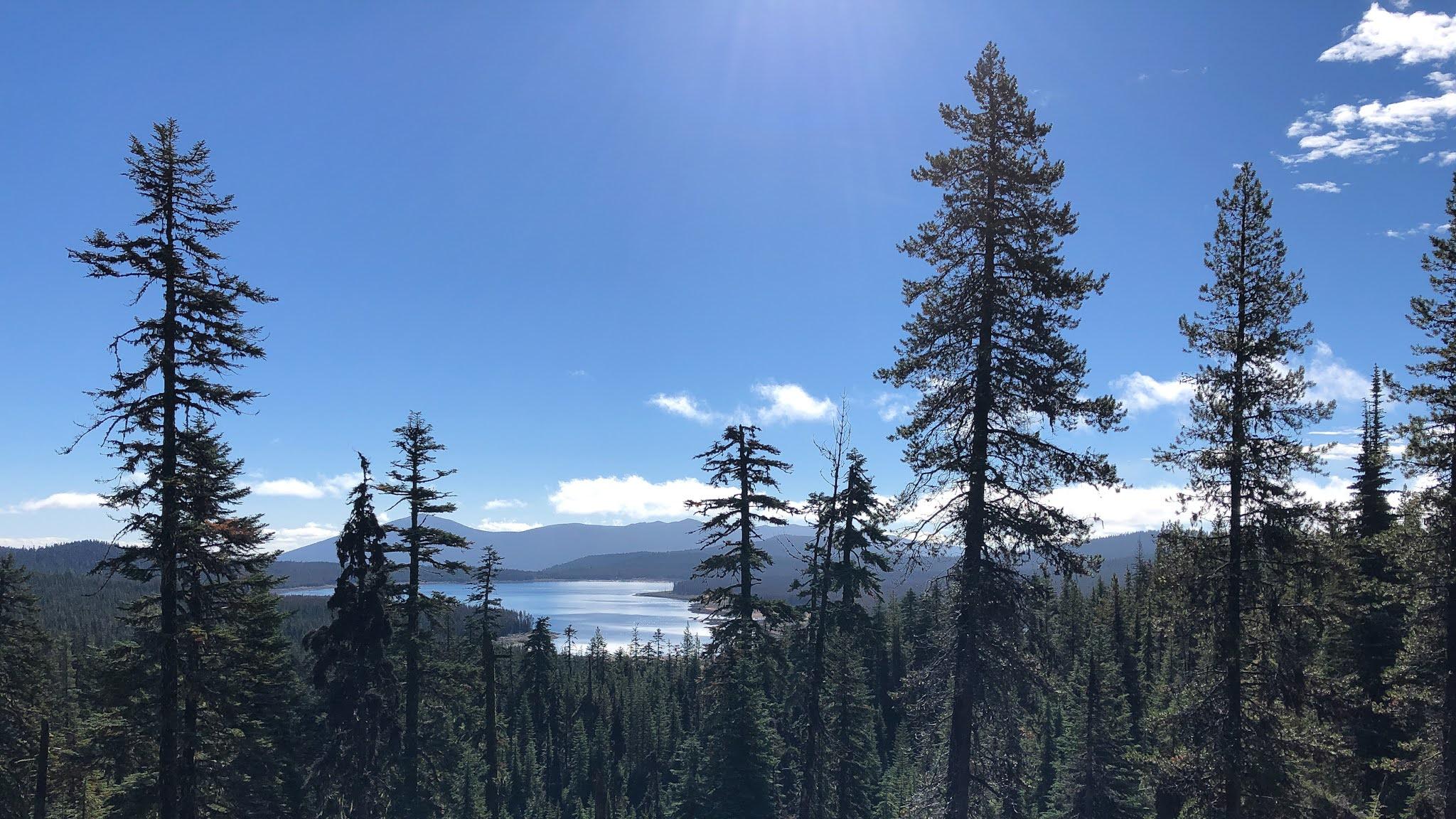 four mile lake oregon