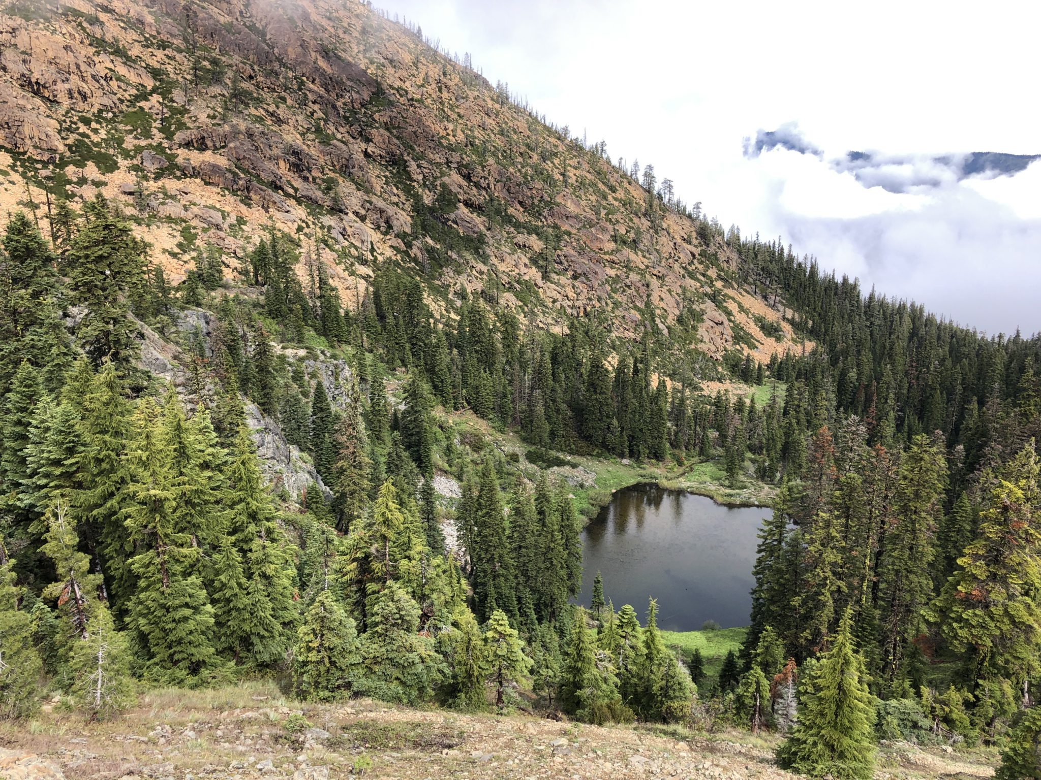 Echo Lake Red Buttes Wilderness