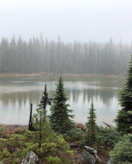 Red Lake loop hike